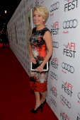 Actress Emma Thompson attends the premiere of Walt Disney Pictures' 'Saving Mr Banks' during AFI FEST 2013 presented by Audi at TCL Chinese Theatre...
