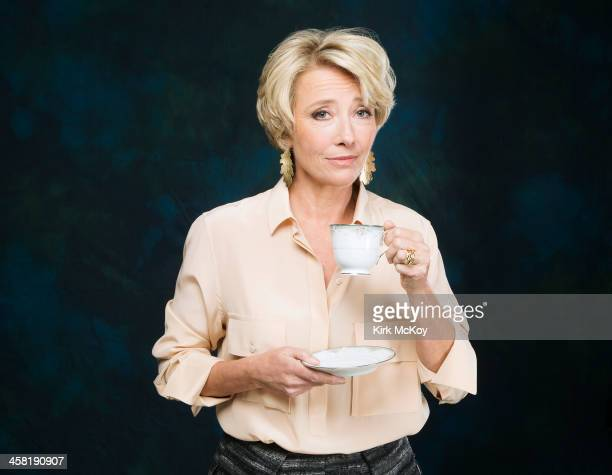 Actress Emma Thompson is photographed for Los Angeles Times on November 10 2013 in Los Angeles California PUBLISHED IMAGE CREDIT MUST BE Kirk...