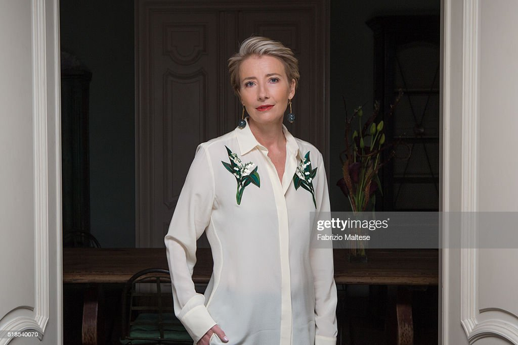 Actress <a gi-track='captionPersonalityLinkClicked' href=/galleries/search?phrase=Emma+Thompson&family=editorial&specificpeople=202848 ng-click='$event.stopPropagation()'>Emma Thompson</a> is photographed for The Hollywood Reporter on February 15, 2016 in Berlin, Germany.