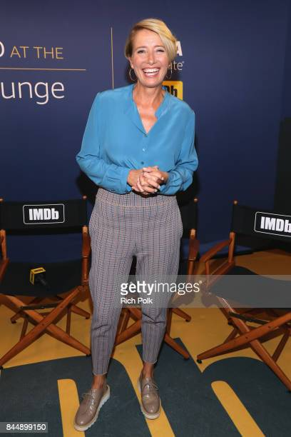 Actress Emma Thompson of 'The Children's Act' attends The IMDb Studio Hosted By The Visa Infinite Lounge at The 2017 Toronto International Film...