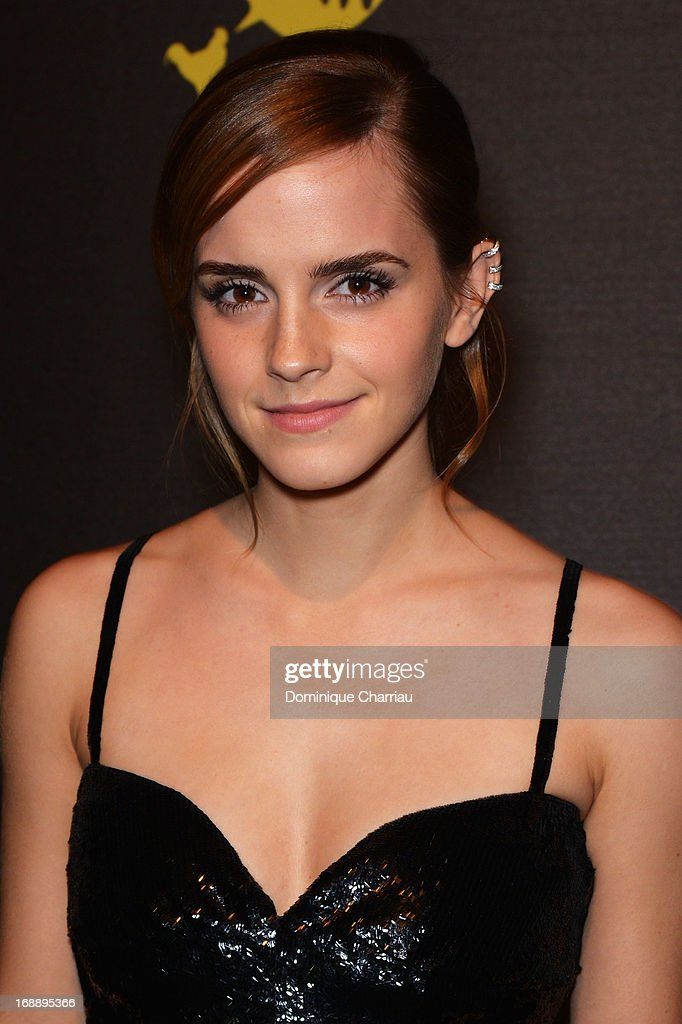 Actress Emma Watson attends The Bling Ring Party hosted by Louis Vuitton during the 66th Annual Cannes Film Festival at Club d'Albane/JW Marriott on May 16, 2013 in Cannes, France.