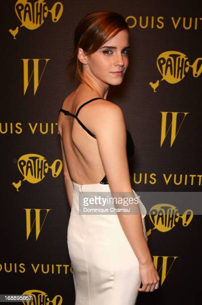 Actress Emma Watson attends The Bling Ring Party hosted by Louis Vuitton during the 66th Annual Cannes Film Festival at Club d'Albane/JW Marriott on...