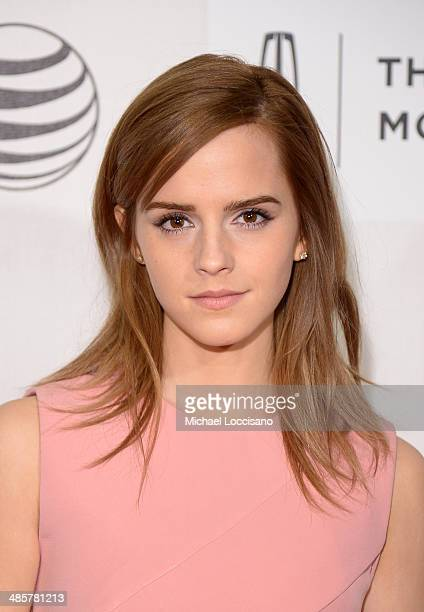 Actress Emma Watson attends the 'Boulevard' Premiere during the 2014 Tribeca Film Festival at BMCC Tribeca PAC on April 20 2014 in New York City