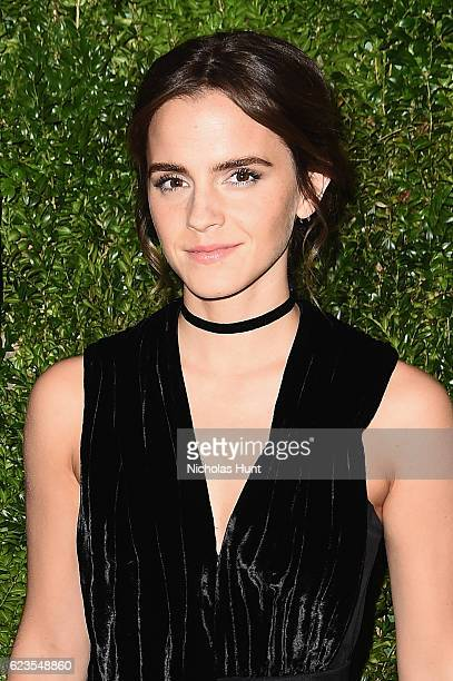 Actress Emma Watson attends the MoMA Film Benefit presented by CHANEL A Tribute To Tom Hanks at MOMA on November 15 2016 in New York City