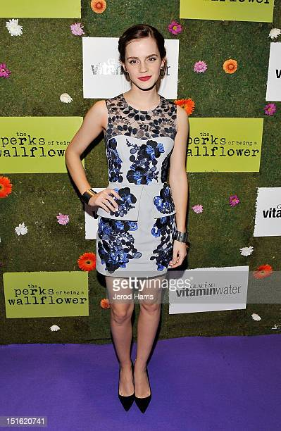 Actress Emma Watson attends the official party for the cast of 'Perks of Being a Wallflower' hosted by vitaminwater during the 2012 Toronto...