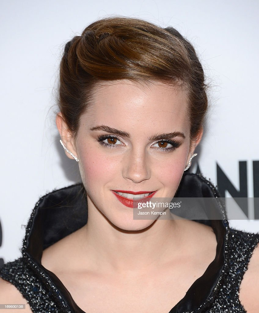 Actress <a gi-track='captionPersonalityLinkClicked' href=/galleries/search?phrase=Emma+Watson&family=editorial&specificpeople=171373 ng-click='$event.stopPropagation()'>Emma Watson</a> attends the premiere of A24's 'The Bling Ring' at the Directors Guild Of America on June 4, 2013 in Los Angeles, California.