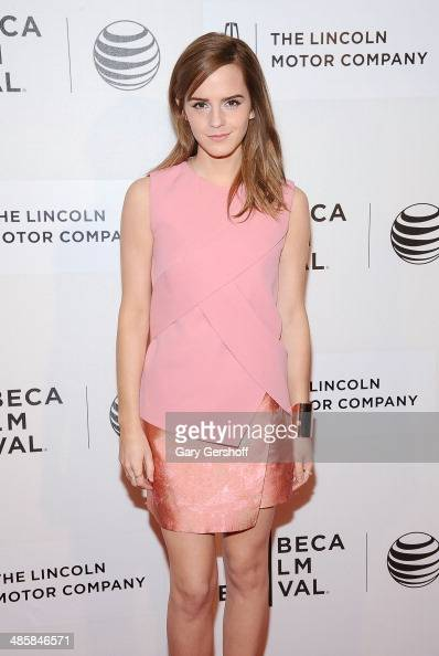 Actress Emma Watson attends the premiere of 'Boulevard' during the 2014 Tribeca Film Festival at BMCC Tribeca PAC on April 20 2014 in New York City