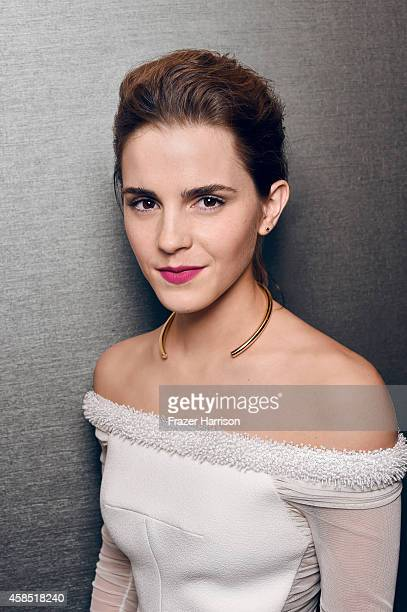 Actress Emma Watson is photoraphed for Portrait Session on October 30 2014 in Beverly Hills California