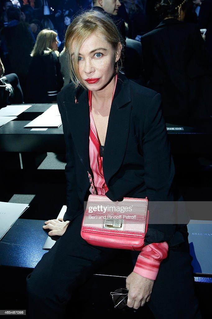Elie Saab  : Front Row - Paris Fashion Week Womenswear Fall/Winter 2015/2016