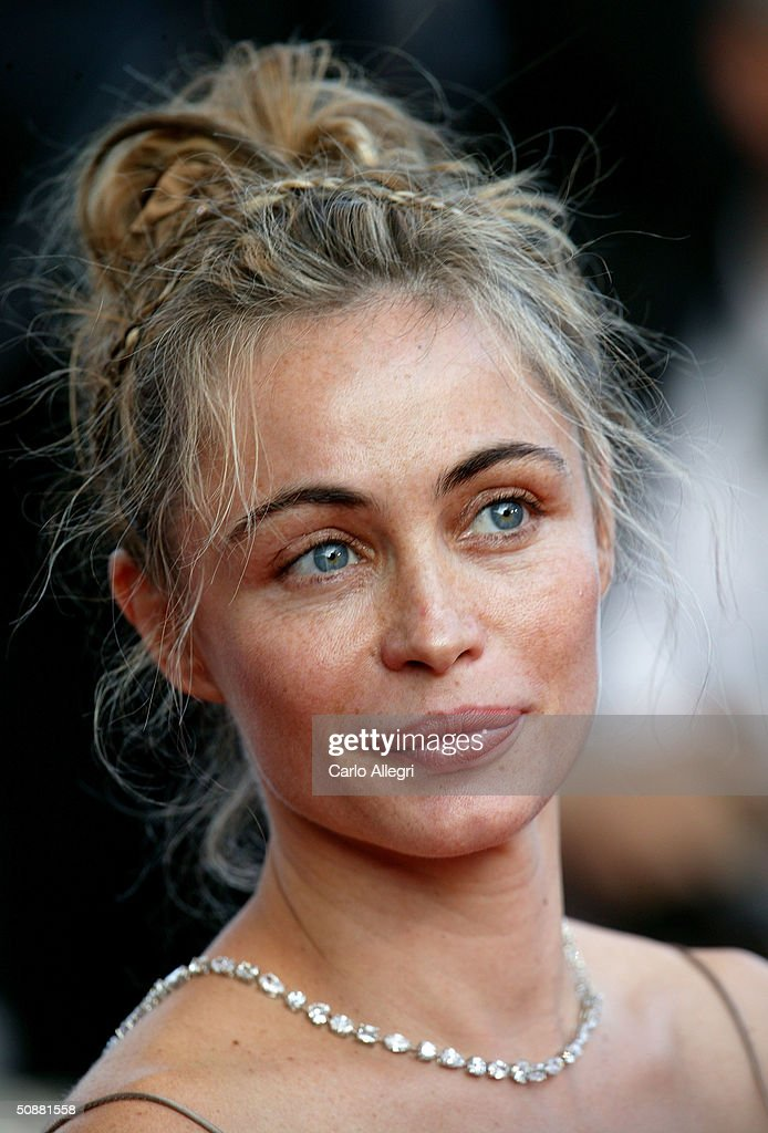 Actress Emmanuelle Beart attends the screening of the film 'Diarios de Motocicleta' premiere at the Palais des Festivals during the 57th International Cannes Film Festival May 19, 2004 in Cannes, France.