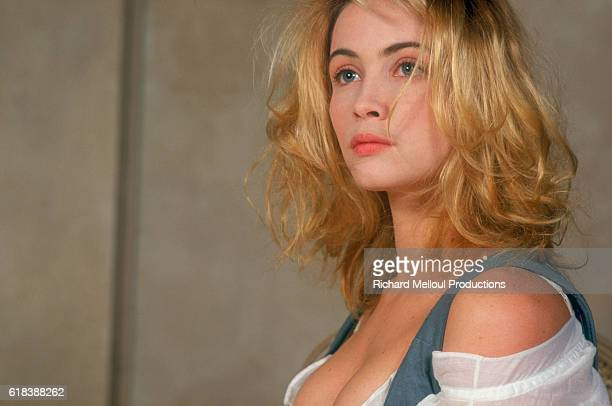 Actress Emmanuelle Beart stars in Marivaux's play La Double Inconstance The 1988 production staring Beart and Daniel Auteuil was directed by Bernard...