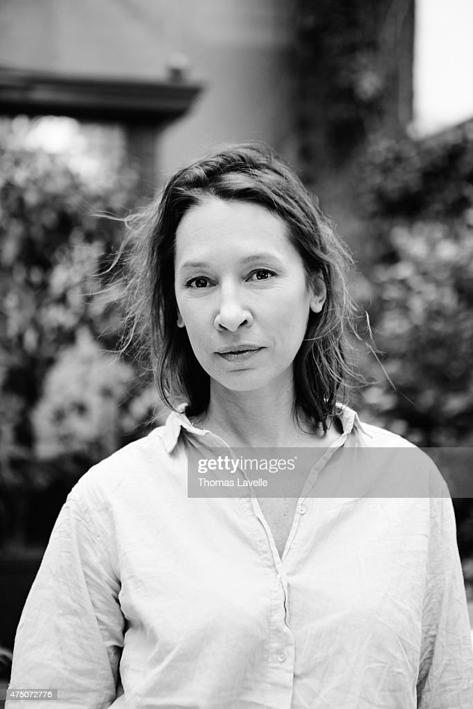 Actress <a gi-track='captionPersonalityLinkClicked' href=/galleries/search?phrase=Emmanuelle+Bercot&family=editorial&specificpeople=2147740 ng-click='$event.stopPropagation()'>Emmanuelle Bercot</a> is photographed for Le Film Francais on April 22, 2015 in Paris, France.