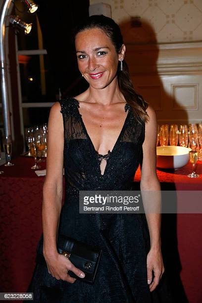 Actress Emmanuelle Boidron attends the 24th 'Gala de l'Espoir' at Theatre du Chatelet on November 14 2016 in Paris France