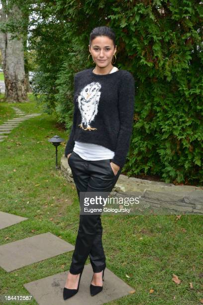 Actress Emmanuelle Chriqui attends the 21st Annual Hamptons International Film Festival on October 13 2013 in East Hampton New York