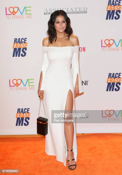 Actress Emmanuelle Chriqui attends the 24th annual Race To Erase MS Gala at The Beverly Hilton Hotel on May 5 2017 in Beverly Hills California