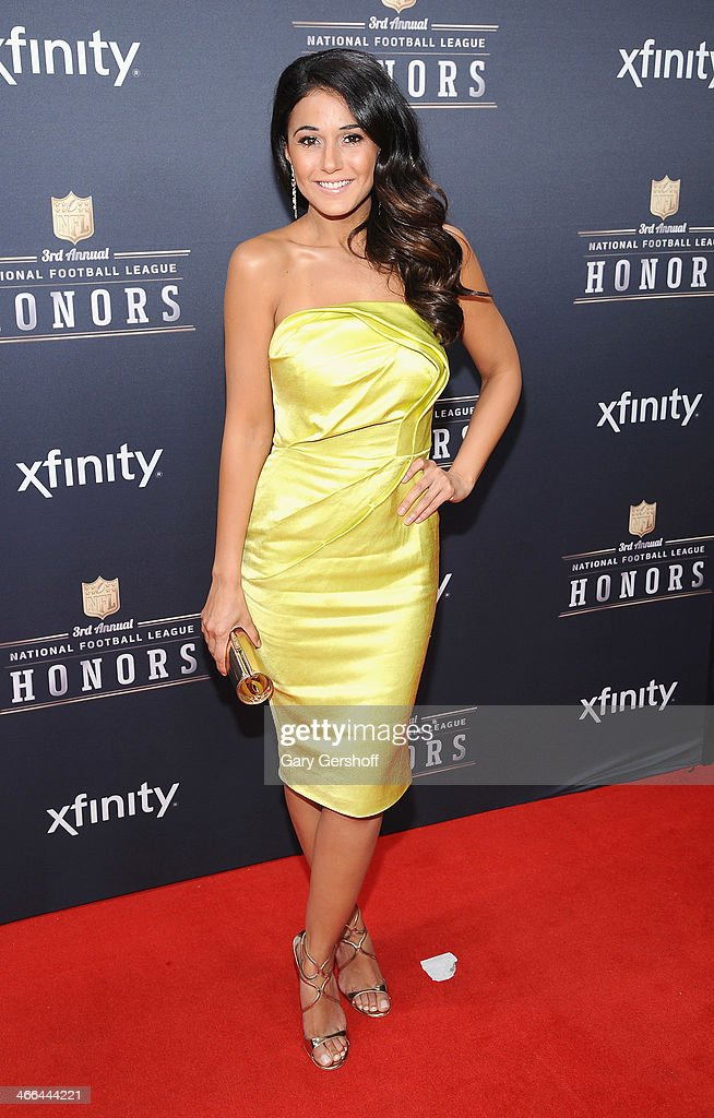 Actress <a gi-track='captionPersonalityLinkClicked' href=/galleries/search?phrase=Emmanuelle+Chriqui&family=editorial&specificpeople=541098 ng-click='$event.stopPropagation()'>Emmanuelle Chriqui</a> attends the 3rd Annual NFL Honors at Radio City Music Hall on February 1, 2014 in New York City.