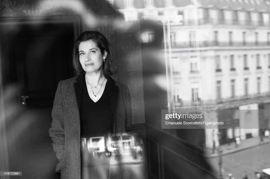 Back the scene at Unifrance, Madame Figaro, February 21, 2014