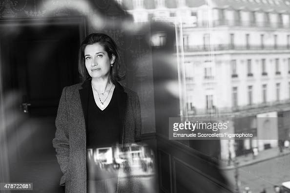 108881010 Actress Emmanuelle Devos is photographed for Madame Figaro on January 20 2014 in Paris France PUBLISHED IMAGE CREDIT MUST READ Emanuele...