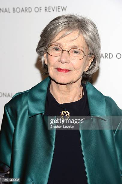 Actress Emmanuelle Riva attendsthe 2013 National Board Of Review Awards Gala at Cipriani 42nd Street on January 8 2013 in New York City