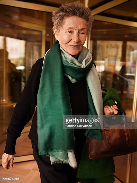 Actress Emmanuelle Riva is photographed for Vanity Fair Italy in Cannes France