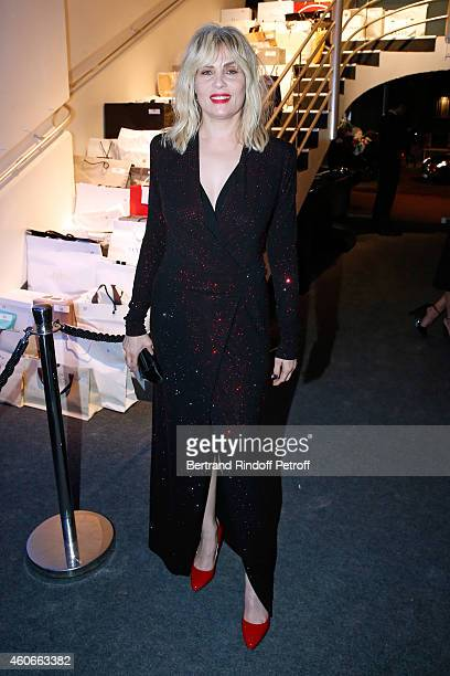 Actress Emmanuelle Seigner attends the Annual Charity Dinner hosted by the AEM Association Children of the World for Rwanda Held at Espace Cardin on...