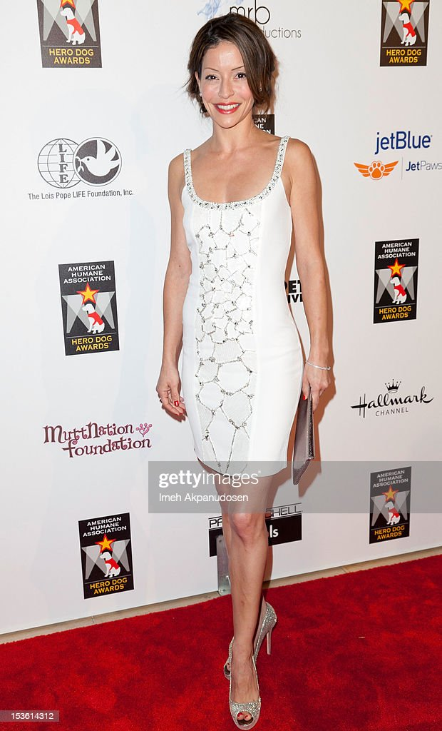 Actress Emmanuelle Vaugier attends The American Humane Association's Hero Dog Awards on October 6, 2012 in Beverly Hills, California.