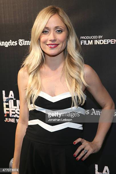 Actress Emme Rylan attends the 'Dude Bro Party Massacre III' and 'SheVenge' screenings during the 2015 Los Angeles Film Festival at Regal Cinemas LA...