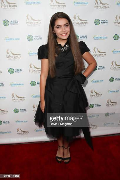 Actress Emmy Perry attends the Steve Irwin Gala Dinner at the SLS Hotel at Beverly Hills on May 13 2017 in Los Angeles California