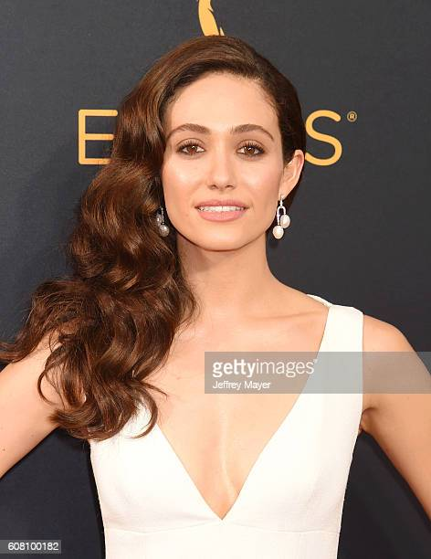 Actress Emmy Rossum arrives at the 68th Annual Primetime Emmy Awards at Microsoft Theater on September 18 2016 in Los Angeles California