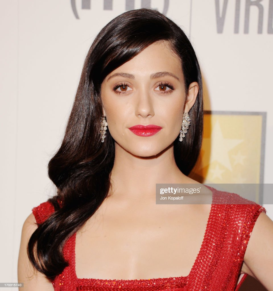 Actress Emmy Rossum arrives at the BTJA Critics' Choice Television Award at The Beverly Hilton Hotel on June 10, 2013 in Beverly Hills, California.