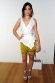 Actress Emmy Rossum attends a celebration for the New York Upfronts hosted by Ariel Foxman Editor of InStyle and ICM at 34 Greene St on May 18 2010...