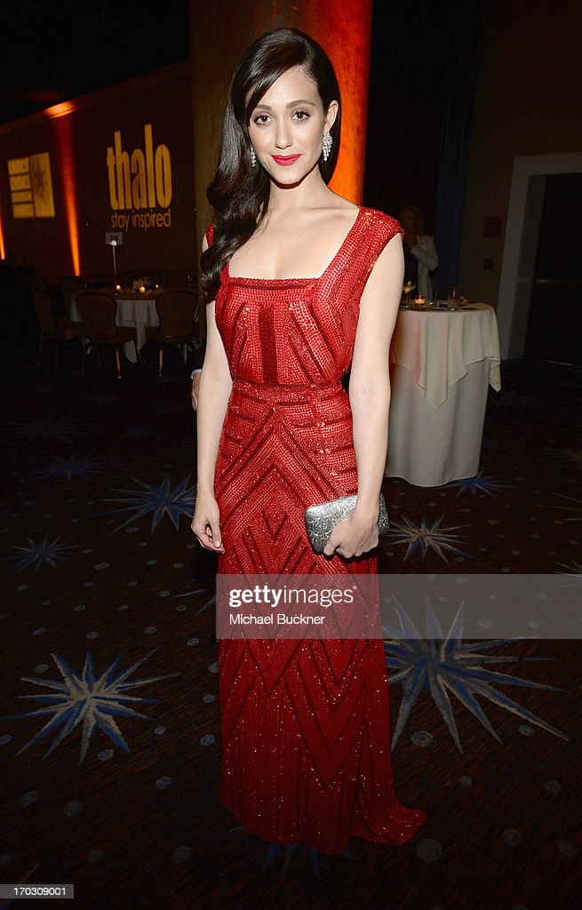 Actress <a gi-track='captionPersonalityLinkClicked' href=/galleries/search?phrase=Emmy+Rossum&family=editorial&specificpeople=202563 ng-click='$event.stopPropagation()'>Emmy Rossum</a> attends Broadcast Television Journalists Association's third annual Critics' Choice Television Awards at The Beverly Hilton Hotel on June 10, 2013 in Los Angeles, California.