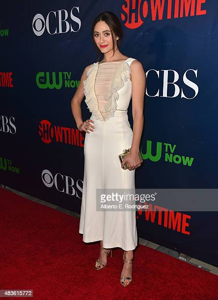 Actress Emmy Rossum attends CBS' 2015 Summer TCA party at the Pacific Design Center on August 10 2015 in West Hollywood California