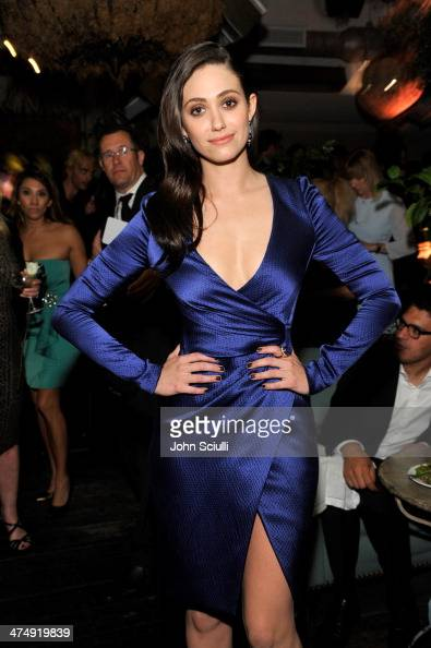 Actress Emmy Rossum attends 'Decades of Glamour' presented by BVLGARI on February 25 2014 in West Hollywood California
