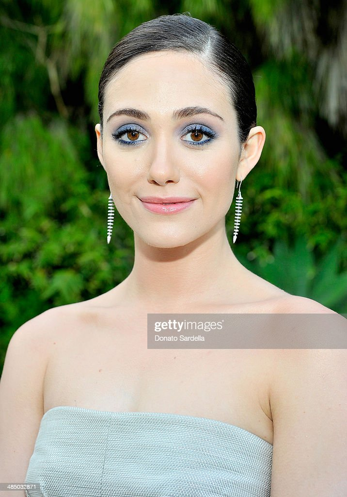 Actress Emmy Rossum attends Launch Of CHOO.08 hosted by Jimmy Choo's Sandra Choi on April 15, 2014 in Beverly Hills, California.