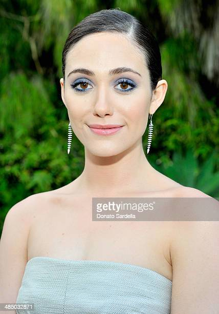 Actress Emmy Rossum attends Launch Of CHOO08 hosted by Jimmy Choo's Sandra Choi on April 15 2014 in Beverly Hills California