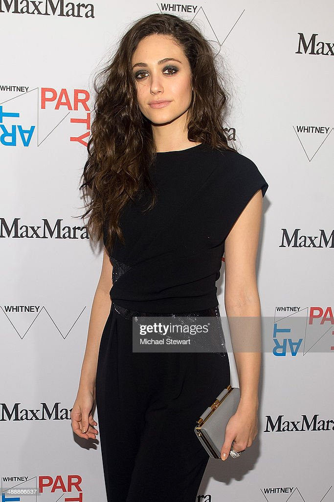 Actress <a gi-track='captionPersonalityLinkClicked' href=/galleries/search?phrase=Emmy+Rossum&family=editorial&specificpeople=202563 ng-click='$event.stopPropagation()'>Emmy Rossum</a> attends the 2014 Whitney Art Party at Highline Stages on May 8, 2014 in New York City.
