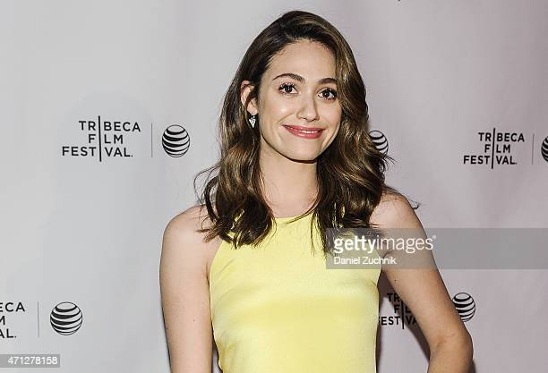 Actress Emmy Rossum attends the 2015 Tribeca Film Festival Tribeca Talks 'Mr Robot' at Chelsea Bow Tie Cinemas on April 26 2015 in New York City