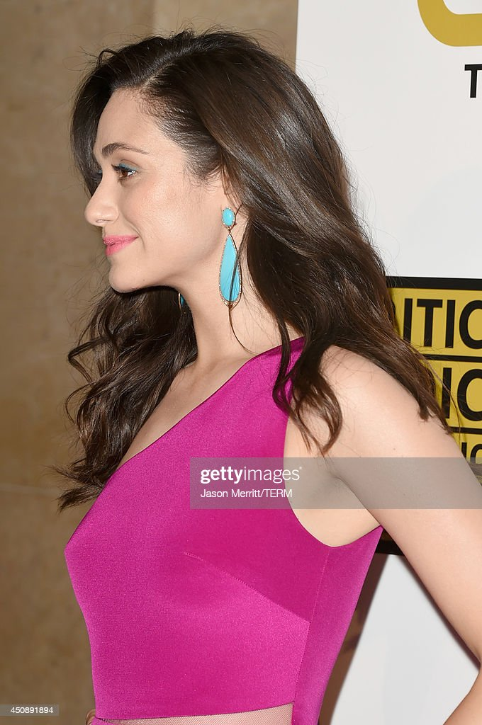 Actress Emmy Rossum attends the 4th Annual Critics' Choice Television Awards at The Beverly Hilton Hotel on June 19, 2014 in Beverly Hills, California.
