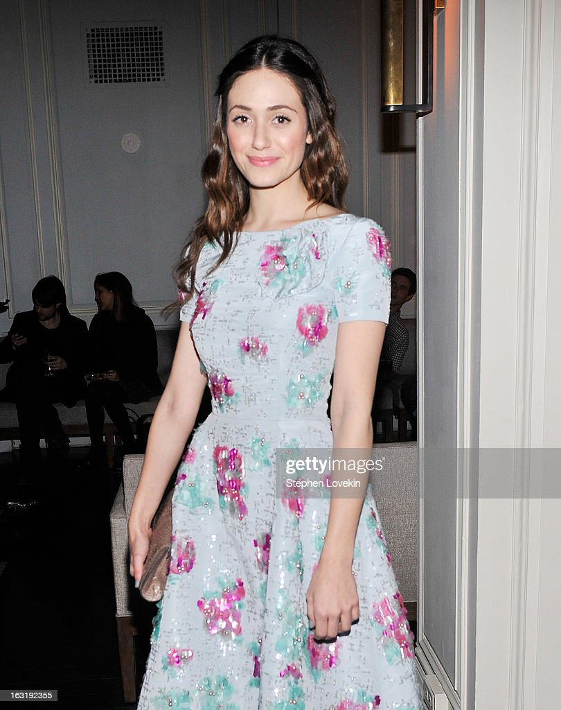 Actress Emmy Rossum attends the after party for the Gucci and The Cinema Society screening of 'Oz the Great and Powerful' at Harlow on March 5, 2013 in New York City.