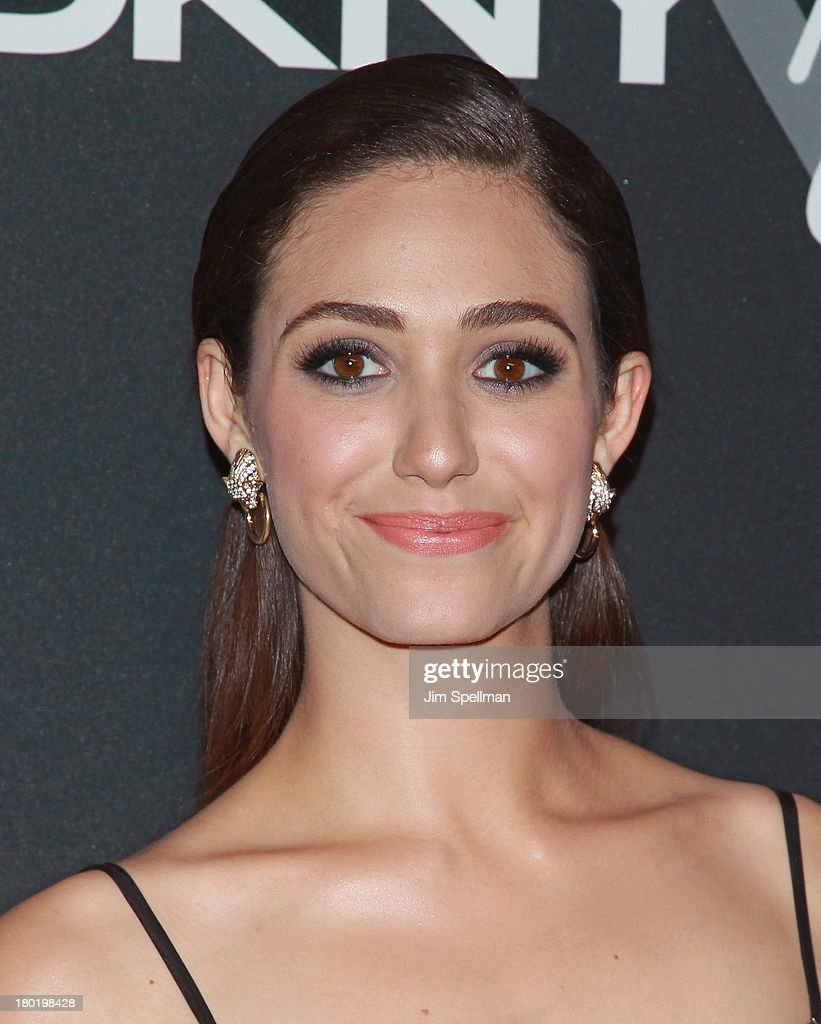 Actress <a gi-track='captionPersonalityLinkClicked' href=/galleries/search?phrase=Emmy+Rossum&family=editorial&specificpeople=202563 ng-click='$event.stopPropagation()'>Emmy Rossum</a> attends the #DKNY25 Birthday Bash at 23 Wall Street on September 9, 2013 in New York City.