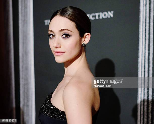 Actress Emmy Rossum attends The Frick Collection Young Fellows Ball 2016 at The Frick Collection on March 10 2016 in New York City