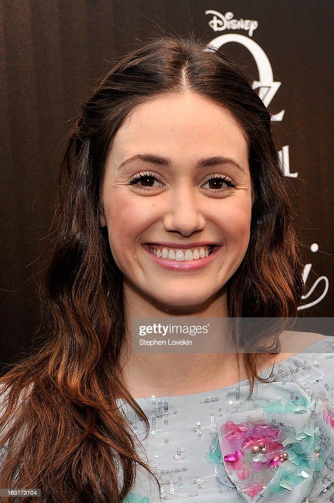 Actress <a gi-track='captionPersonalityLinkClicked' href=/galleries/search?phrase=Emmy+Rossum&family=editorial&specificpeople=202563 ng-click='$event.stopPropagation()'>Emmy Rossum</a> attends the Gucci and The Cinema Society screening of 'Oz the Great and Powerful' at the DGA Theater on March 5, 2013 in New York City.