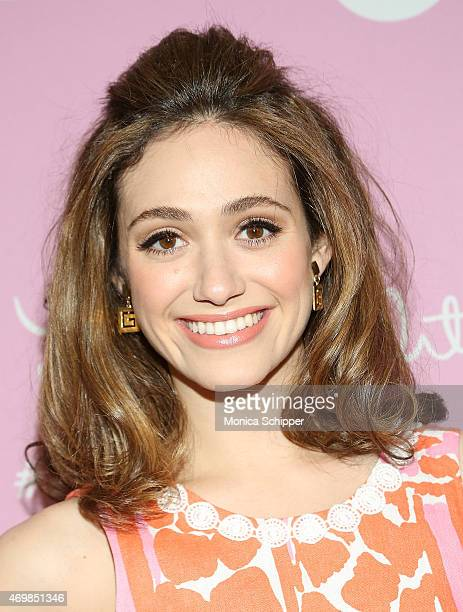 Actress Emmy Rossum attends the Lilly Pulitzer For Target Collaboration at Bryant Park Grill on April 15 2015 in New York City