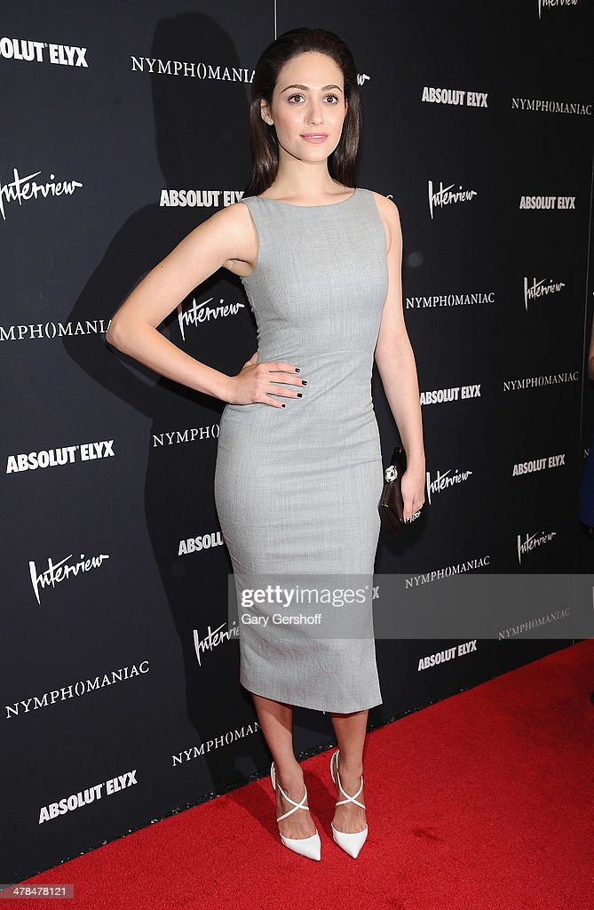 Actress Emmy Rossum attends the 'Nymphomaniac: Volume I' screening at The Museum of Modern Art on March 13, 2014 in New York City.