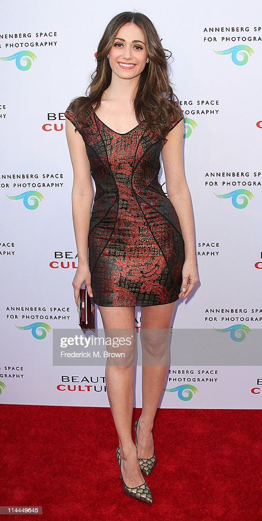 Actress Emmy Rossum attends the Opening Night of 'Beauty Culture' at The Annenberg Space For Photography on May 19, 2011 in Century City, California.