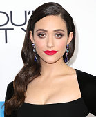 Actress Emmy Rossum attends the Premiere of eOne Films' 'You're Not You' at the Landmark Theatre on October 8 2014 in Los Angeles California