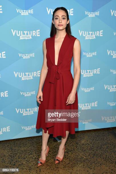 Actress Emmy Rossum attends the Shameless panel during the 2017 Vulture Festival at Milk Studios on May 21 2017 in New York City