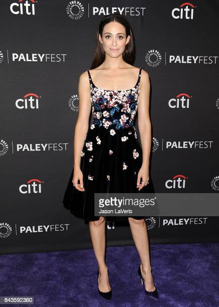 Actress Emmy Rossum attends the Showtime event at the 11th annual PaleyFest fall TV preview at The Paley Center for Media on September 6 2017 in...
