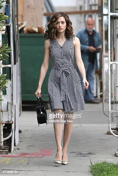 Actress Emmy Rossum is seen on May 27 2015 in Los Angeles California